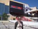 It was a crazy hot day when my friend and I decided to wait in the rush line to see Marco Bellocchio's Vincere.