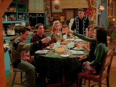 the-friends-first-thanksgiving 5 pequeños secretos para escribir GRANDES DIÁLOGOS