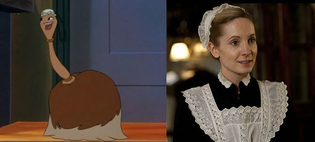 When Beauty And The Beast Meets Downton Abbey Cinefille