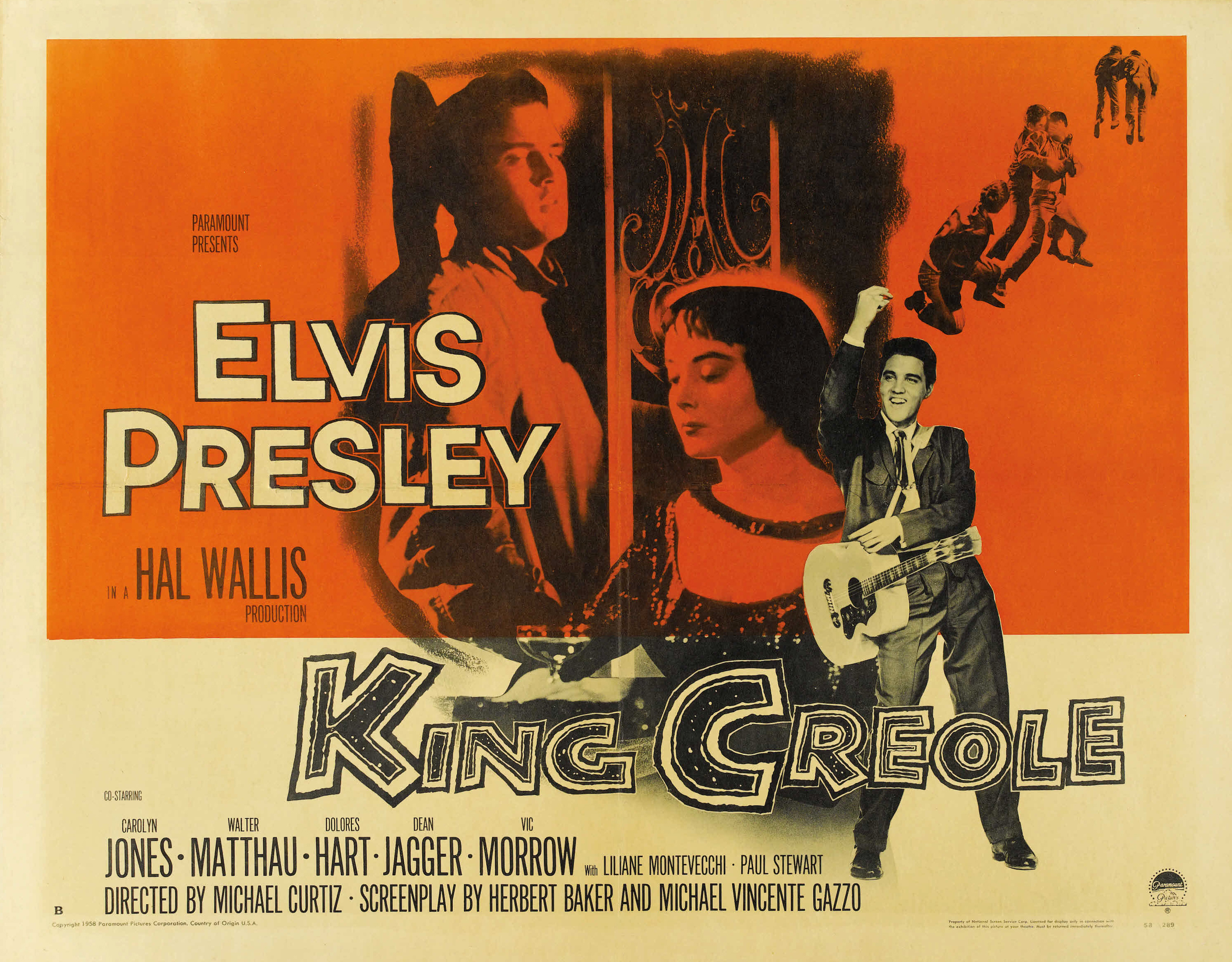 The elvis files king creole 1958 for cinephiles by a cinefille