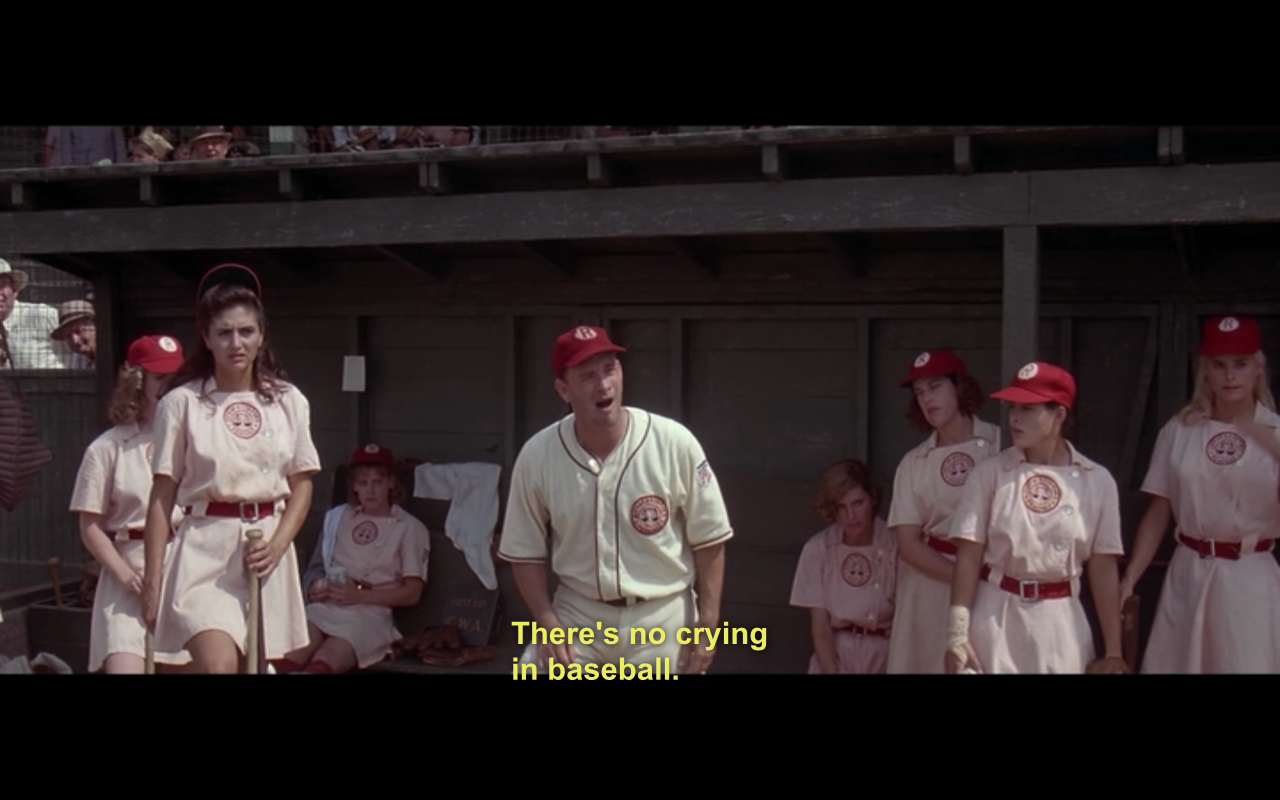 a film analysis of the movie a league of their own directed by penny marshall Read common sense media's a league of their own the all-american girls league as in most baseball movies, the film follows the penny marshall.