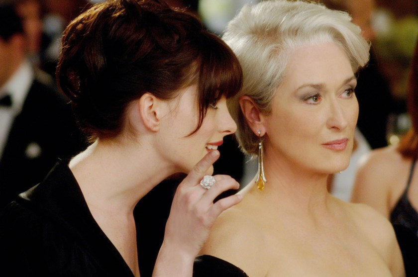 Sorry Anne. I can't see you when Meryl Streep is in the frame.
