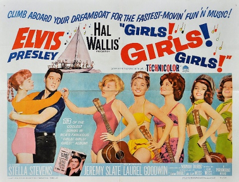 Image result for Elvis. girls girls girls