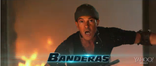 Banderas Expendables